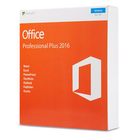 الصين تفعيل سريع عبر الإنترنت Microsoft Office 2016 Professional Plus FPP package box package KEY code card DVD Pack office 2016 المزود