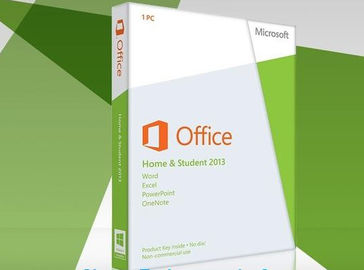 الصين FPP Microsoft Office 2013 Retail Box Home and Student 1 PC No Media with Card موزع